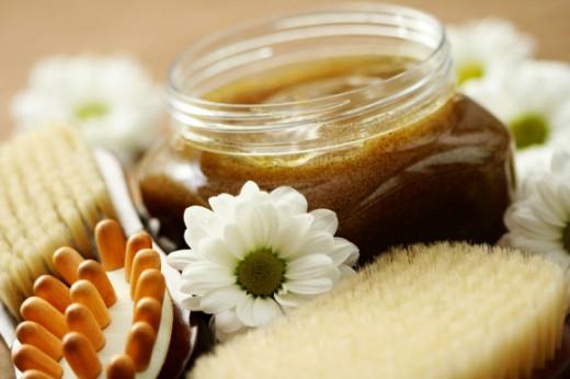 Rejuvenating coffee gel