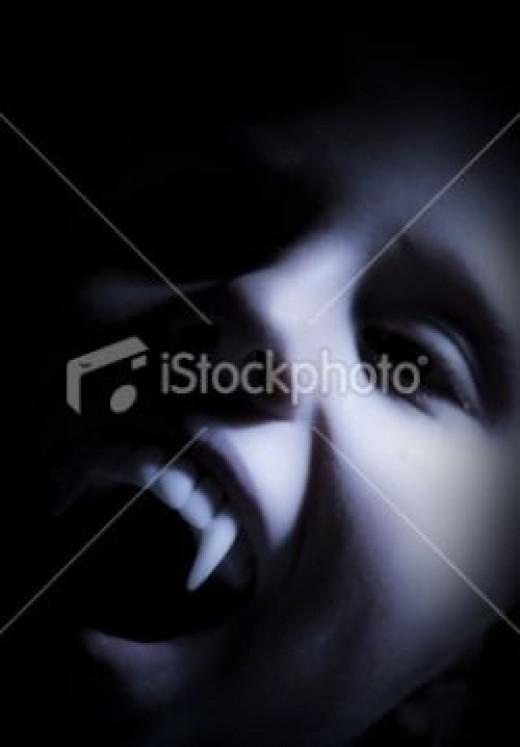 scary vampire stock