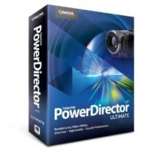 Cyberlink PowerDIrector 11 Ultimate Editor