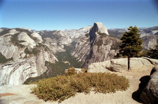 Half Dome Mountain, Yosemite