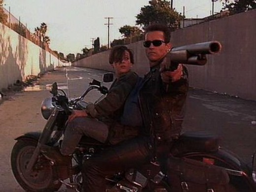 T800 and John Connor