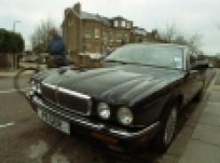 Bad guys drive Jags: Jaguar XJ12/Daimler Double Six