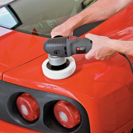 Porter Cable 7424xp Polisher In Action