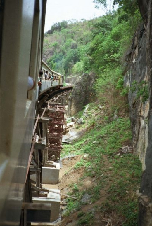 Train Trip over the River Kwai