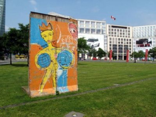 Photo of Section of The Berlin Wall