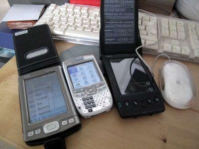 Palm PDAs