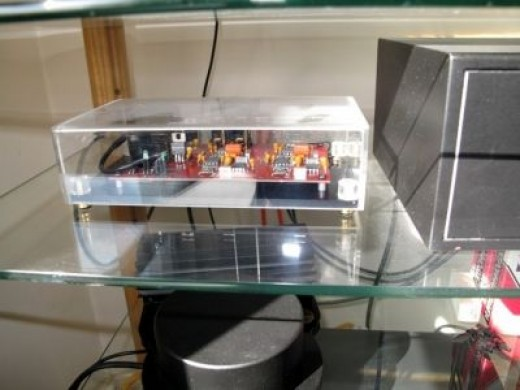 Michell Gyrodeck Phono Stage Pre-Amp and Power Supply