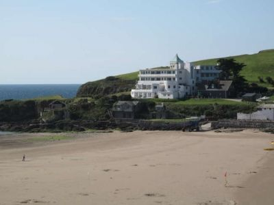 Burgh Island Hotel, South West England