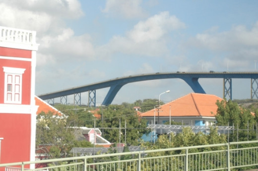 The Queen Juliana Bridge is185 feet above the sea, it is one of the highest bridges in the world.