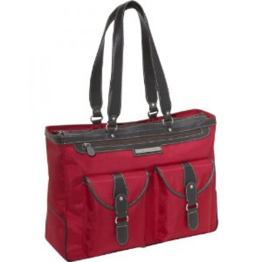 """Clark & Mayfield Marquam 18.4"""" Laptop Tote"""