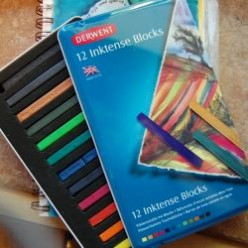 Derwent Inktense Blocks for Paper or Fabric