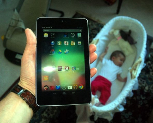 Nexus 7 Asus Google: My new baby