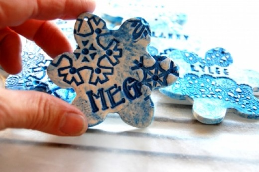 meaningful christmas handmade ornament