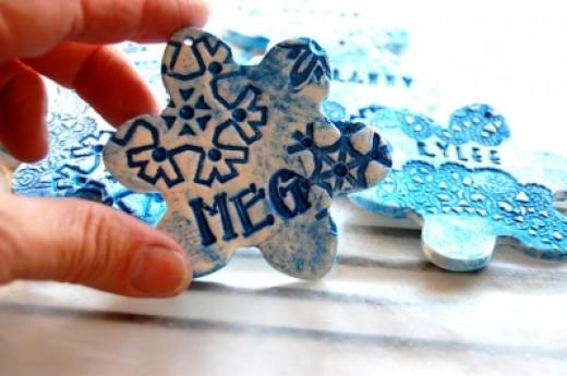 Do It Yourself Handmade Christmas Tree Ornaments