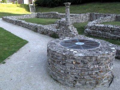 Roman Ruins in Dorchester, Dorset