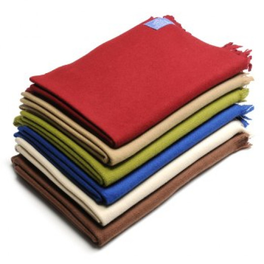 Himalaya Trading Company 100% Cashmere Plush Throw