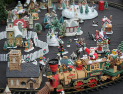 Holiday Express Animated Electric Train Set