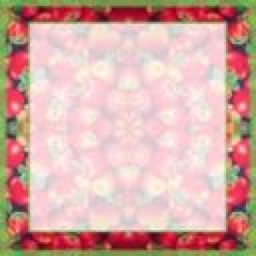 Specialty border frame, apples photo background