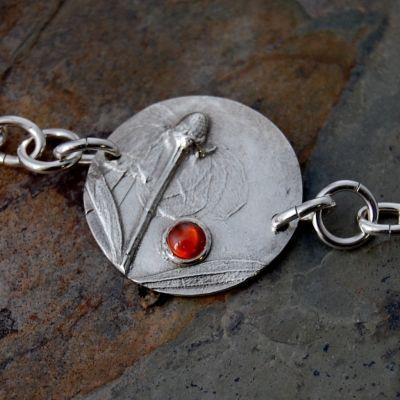 Clasping Coneflower Bracelet