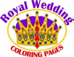 Royal Wedding Colouring Pages