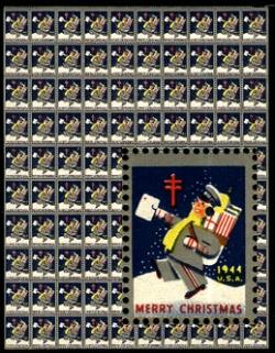 Postman Christmas Seals