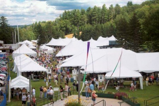 Annual Juried August Fair Sunapee NH