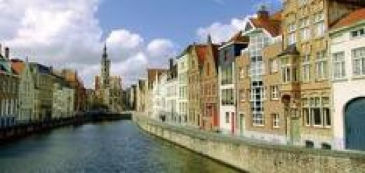 Canals in Bruge