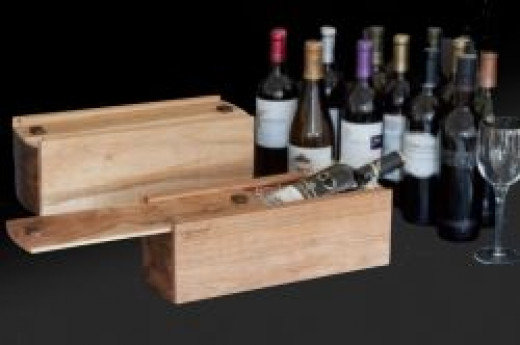 Go to a party with your wine in a gift box