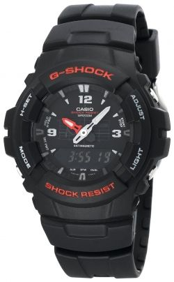 Casio Men's G100-1BV G-Shock