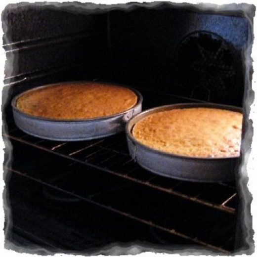 Look how evenly my cakes bake now!