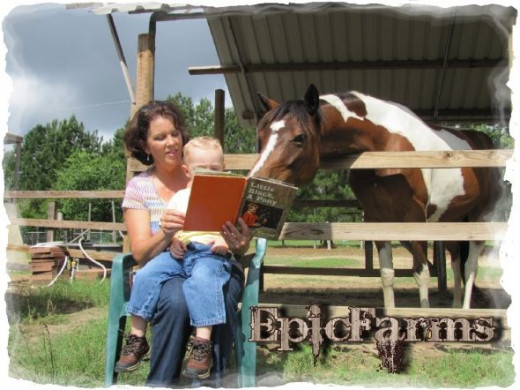 We ALL love reading around here ;o)