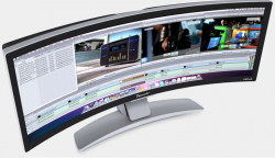 Ostendo Curved Display