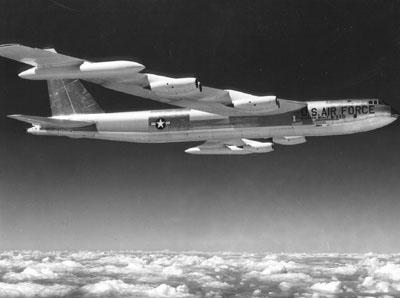 The first B52 built at Boeing: Wichita, Kansas.