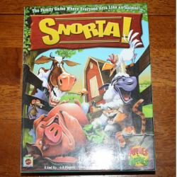 Snorta Party Board Game