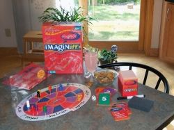 Imaginiff Board Game and Pieces