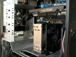 Hyper 212 EVO Cooling Fan in Case