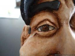 sculpture of President Obama