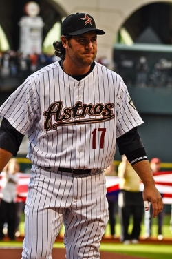 Lance Berkman as a Houston Astro