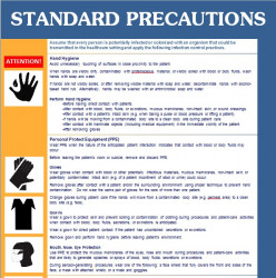 Free CDC Standard Precautions Posters