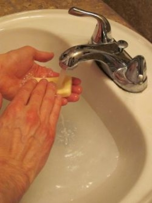 Hand Washing Step 3 OUTFOX Prevention
