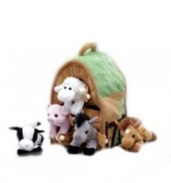 Plush Animal Playhouses