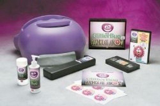 Glitterbug kit by OUTFOX for infection control