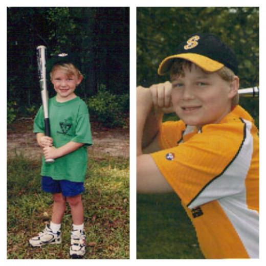 Nicholas & Jacob - my grandsons