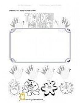 Thanksgiving activity promoting hand hygiene