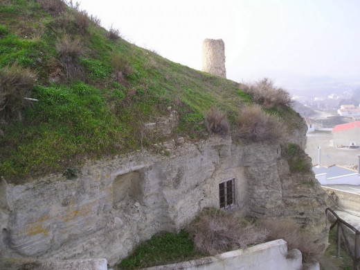Old cave house (dating back to Moorish times), Las Hafas, Benamaurel.