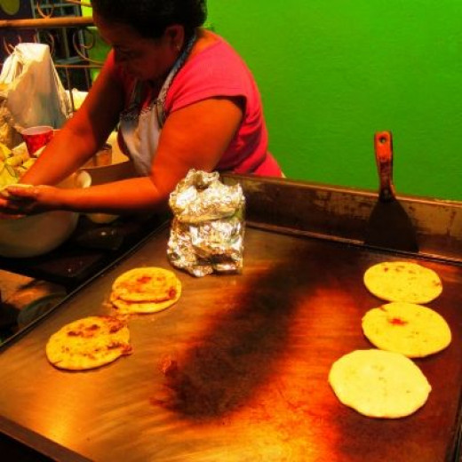 How do you make pupusas?
