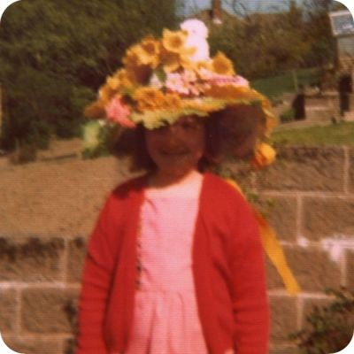 A 1970's Style Easter Bonnet