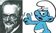 Leon Trotsky vs. Brainy Smurf