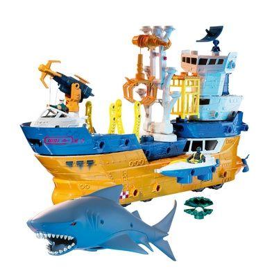 Mattel Matchbox Mega Rig Shark Adventure