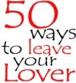 There Really Are 50 Ways to Leave Your Lover